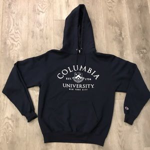 Champion Columbia University NYC Hoodie Sweatshirt